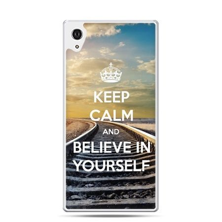 Etui Xperia Z4 Keep Calm and Believe in Yourself