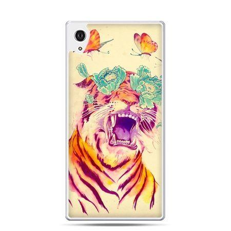 Etui Xperia Z4 egzotyczny tygrys