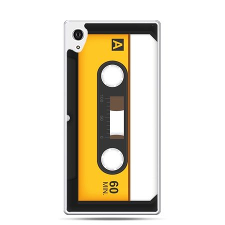Etui Xperia Z4 kaseta magnetofonowa