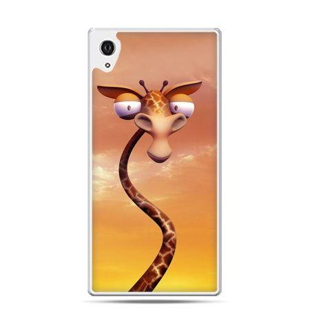 Etui Xperia Z4 śmieszna żyrafa