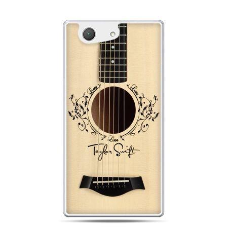 Xperia Z4 compact etui Taylor Swift gitara