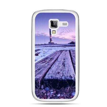 Galaxy Ace 2 etui latarnia morska zmierzch