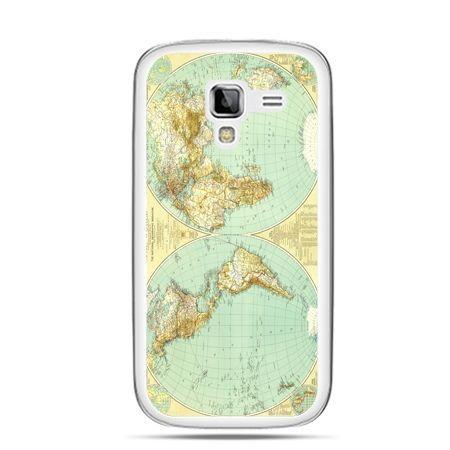 Galaxy Ace 2 etui mapa świata