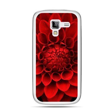 Galaxy Ace 2 etui czerwona dalia