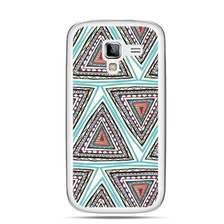 Galaxy Ace 2 etui Azteckie trójkąty