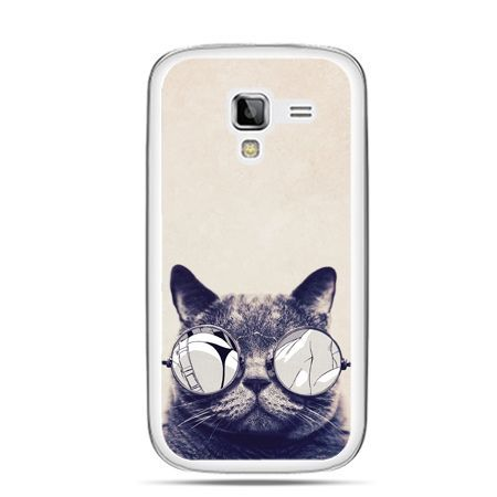 Galaxy Ace 2 etui kot w okularach