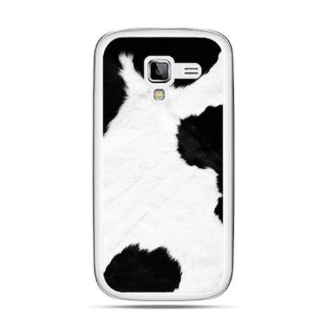 Galaxy Ace 2 etui łaciata krowa