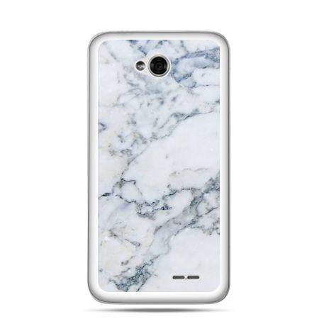 Etui na LG L70 biały marmur