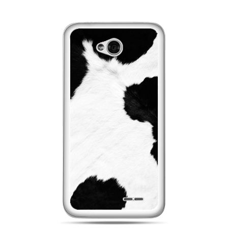 Etui na LG L70 łaciata krowa