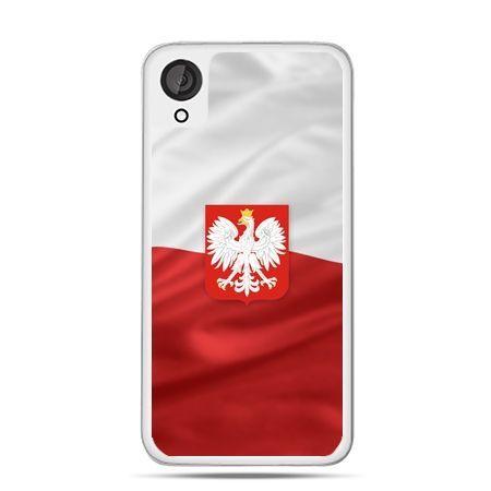Etui dla Desire 820 flaga Polski