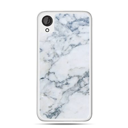 Etui dla Desire 820 biały marmur