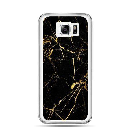 Galaxy Note 5 etui złoty marmur