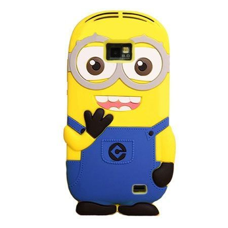 Galaxy S2 etui gumowe 3D minionki