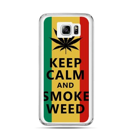 Galaxy Note 5 etui Keep Calm and Smoke Weed