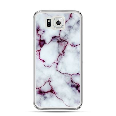 Galaxy Alpha etui różowy marmur
