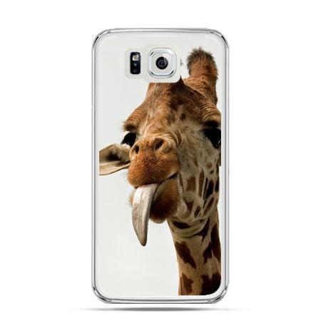 Galaxy Alpha etui żyrafa z językiem