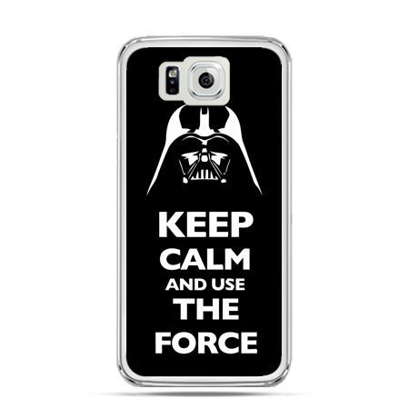 Galaxy Alpha etui Keep calm and use the force