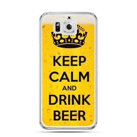 Galaxy Alpha etui Keep calm and drink beer