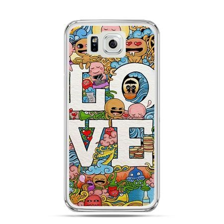 Galaxy Alpha etui LOVE