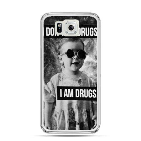 Galaxy Alpha etui I don`t do drugs I am drugs