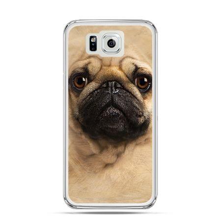 Galaxy Alpha etui pies szczeniak Face 3d