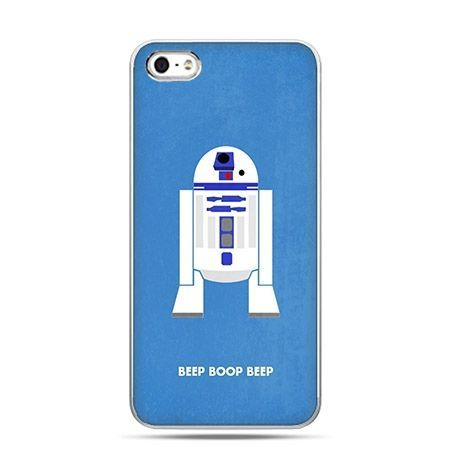 Etui na telefon robot R2D2 Star Wars.
