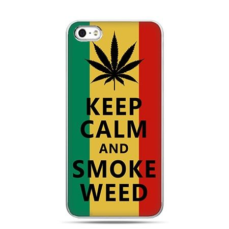 Etui na telefon Keep Calm and Smoke...
