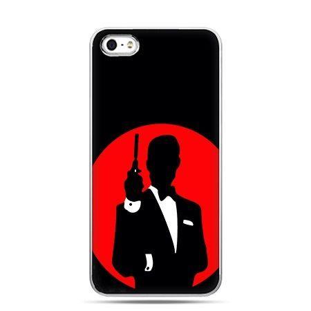Etui na telefon James Bond czerwone.
