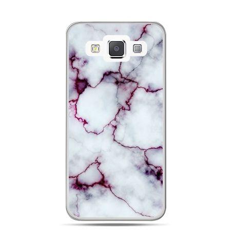 Galaxy J1 etui różowy marmur