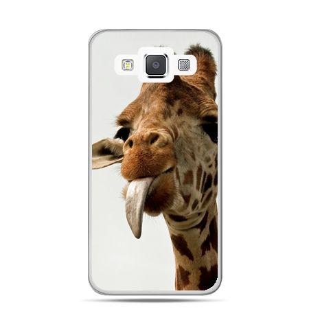 Galaxy J1 etui żyrafa z językiem