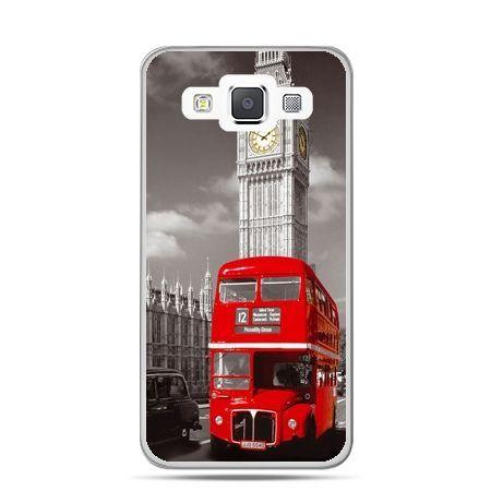 Galaxy J1 etui czerwony autobus londyn