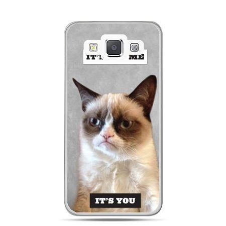 Galaxy J1 etui grumpy kot zrzęda