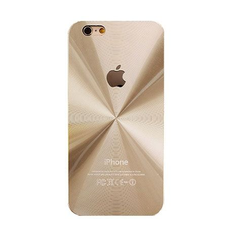 iPhone 4, 4s złote plecki aluminiowe efekt cd.