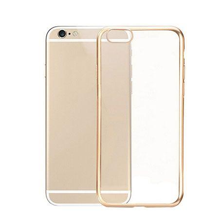 iPhone 6 przezroczyste etui Super Slim 0.33mm platynowane złote.