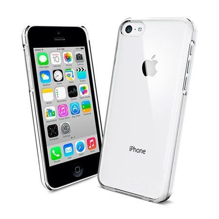 iPhone 5c przezroczyste twarde etui crystal case.