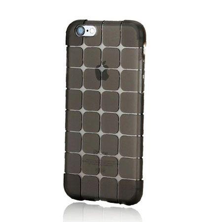 iPhone 5 i 5s CubeProtect etui silikonowe dymione czarne.