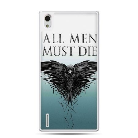 Huawei P7 etui all men must die