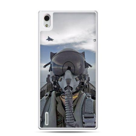 Huawei P7 etui pilot myśliwca