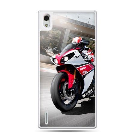 Huawei P7 etui motocykl ścigacz