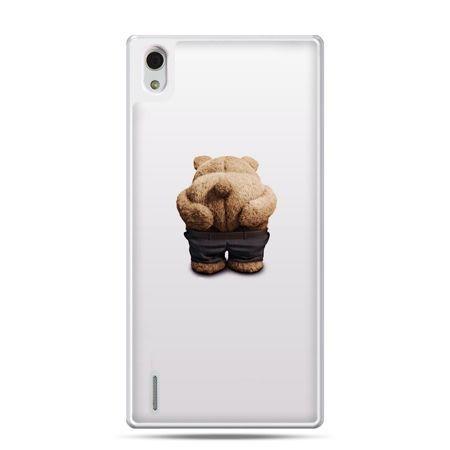 Huawei P7 etui miś Paddington