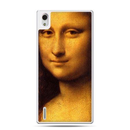 Huawei P7 etui Mona Lisa Da Vinci