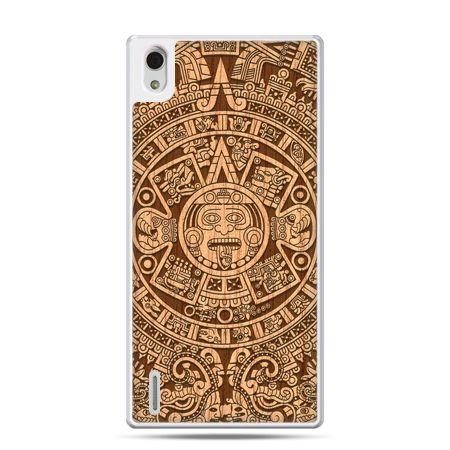 Huawei P7 etui Kalendarz Majów