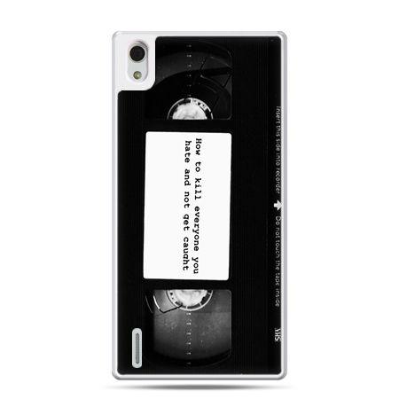 Huawei P7 etui kaseta video