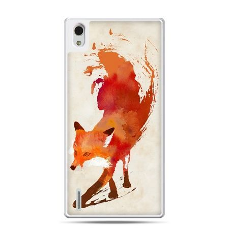 Huawei P7 etui lis watercolor