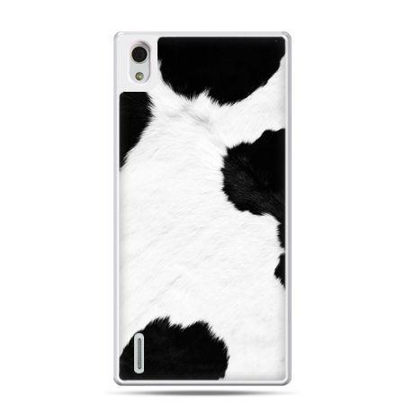 Huawei P7 etui łaciata krowa