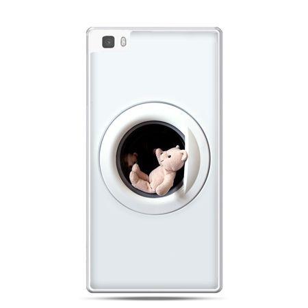 Huawei P8 etui miś w pralce