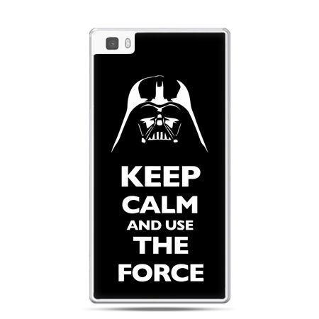 Huawei P8 etui Keep calm and use the force