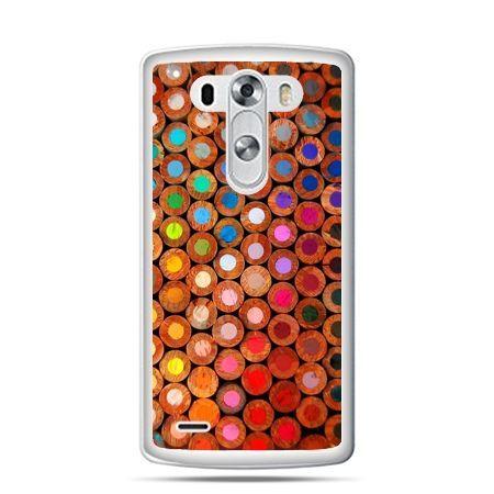 LG G4 etui kolorowe kredki