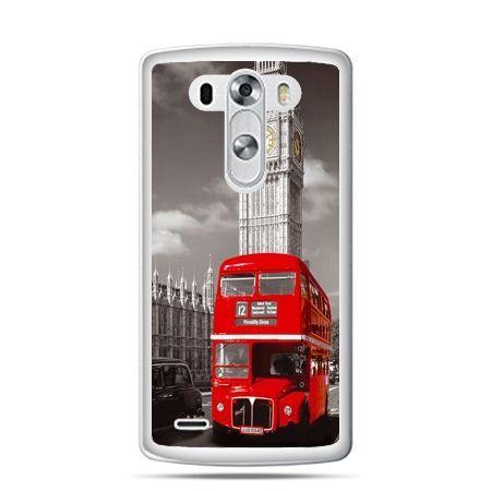 LG G4 etui czerwony autobus londyn