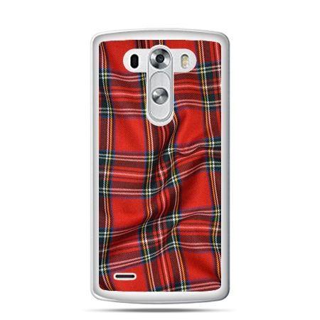 LG G4 etui szkocka kratka